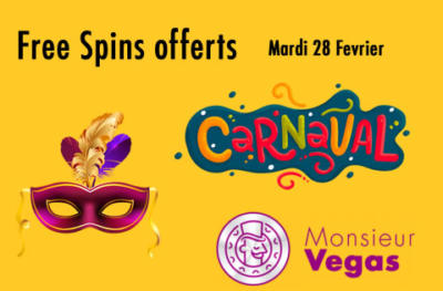 Free Spins Monsieur Vegas